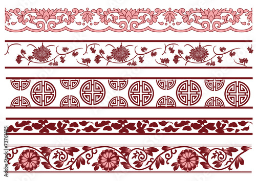 Old lace pattern Poster Mural XXL