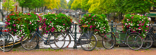 Canvas Prints Bicycle Amsterdam