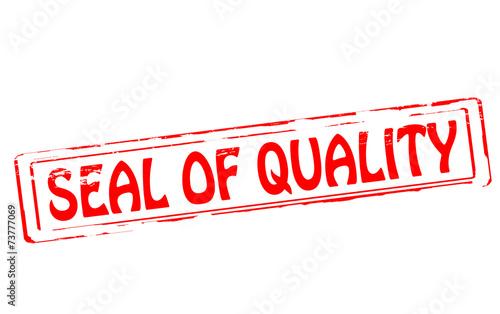 Fényképezés  Seal of quality