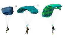 Man Athlete The Parachutist