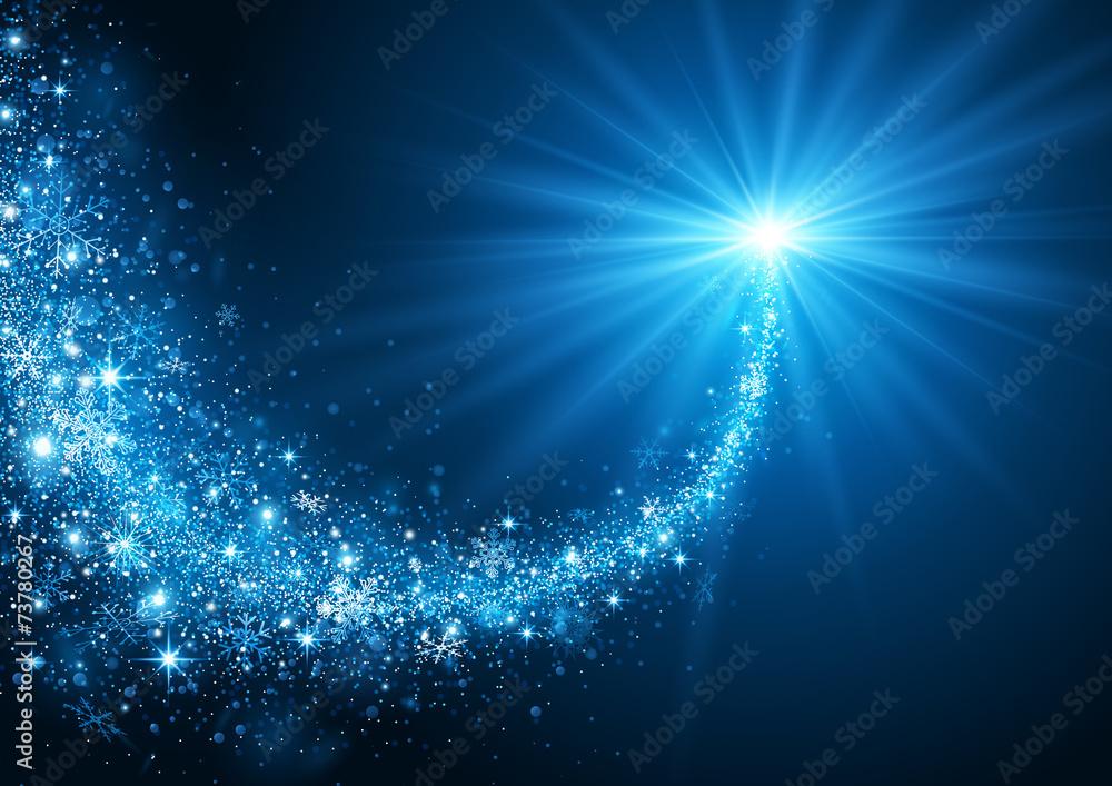 Fototapeta Christmas Star - obraz na płótnie