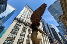 Eagle Statue, Grand Central Te...