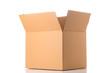 canvas print picture - Open cardboard box