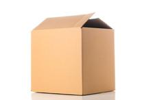 Cardboard Box Closeup