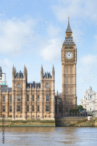 Foto op Canvas Londen House of Parliament and Big Ben in London