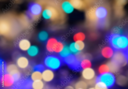 Photo Stands Eggplant bokeh background