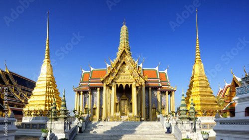 Photo  Wat Phra Kaeo, Temple of the Emerald Buddha Bangkok, Asia Thaila