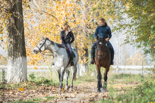 Poster Equitation Horse ride
