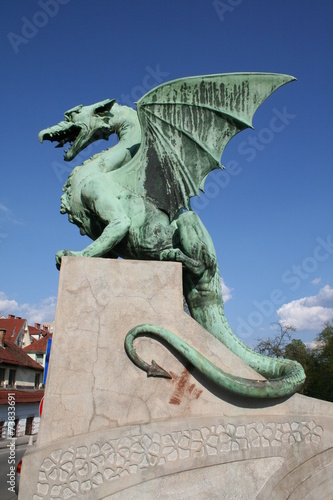 Cadres-photo bureau Dragons Lubiana