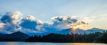 Lake Santeetlah In Great Smoky...