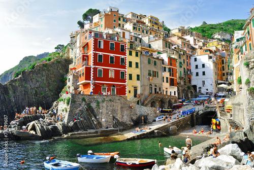 In de dag Liguria I colori delle cinque terre