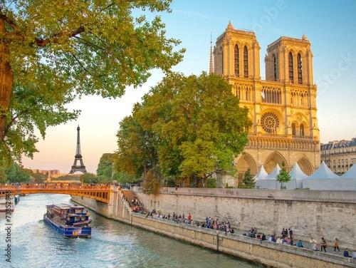 Fotografia  Notre-Dame de Paris, France