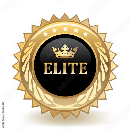 Fotografie, Obraz Elite Badge