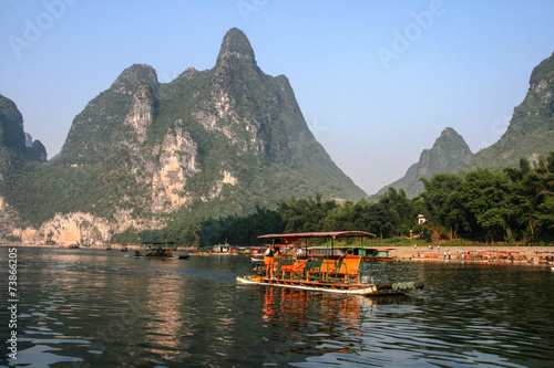 the landscape in guilin, china