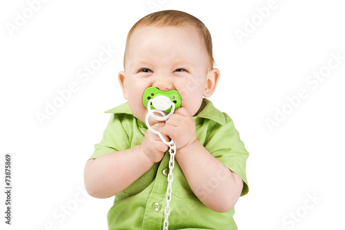Fotografie, Obraz  little happy boy with nipple