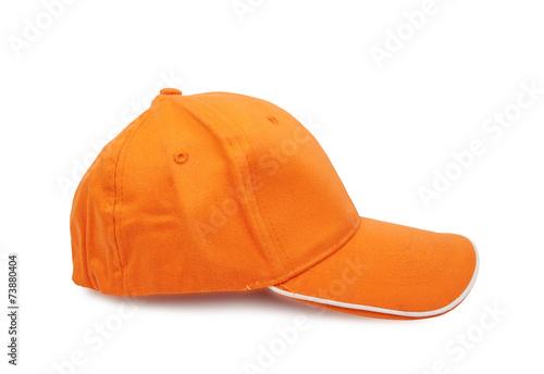 Fotografía  Orange baseball cap