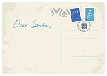 Postcard Letter To Santa
