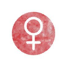 Female Symbol Venus Vector Ico...
