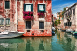 Kolorowe Weneckie kamienice