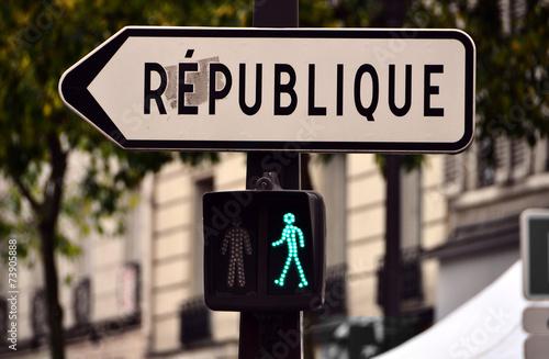 Fotografía  république