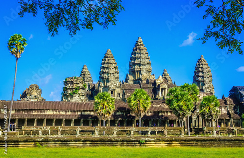 Photo  Amazing Angkor Wat Temple, Siem Reap, Cambodia