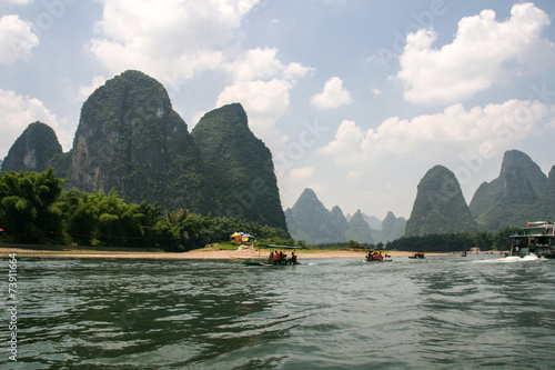 Foto op Canvas Guilin the landscape in guilin, china
