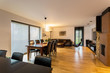 Spacious designer living room