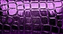 Dark Violet Alligator Patterned Background