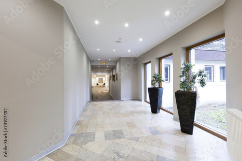 Fotografia  Corridor in luxury hotel