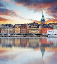 Stockholm, Sweden - Panorama O...