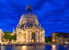 Canal Grande And Basilica Di S...