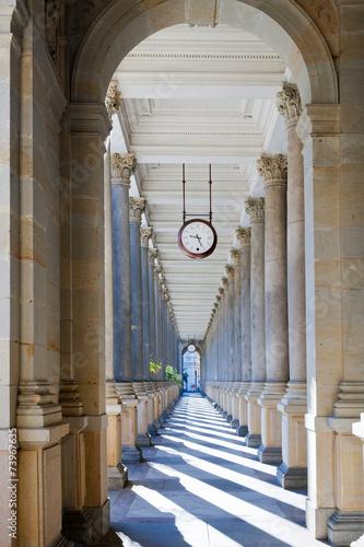 Fototapety, obrazy: Mill colonnade, spa town Karlovy Vary, Czech republic