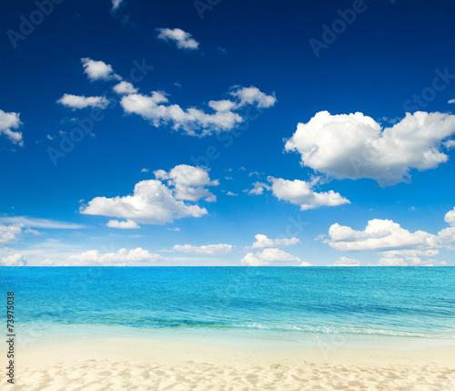 Foto op Canvas Strand sea
