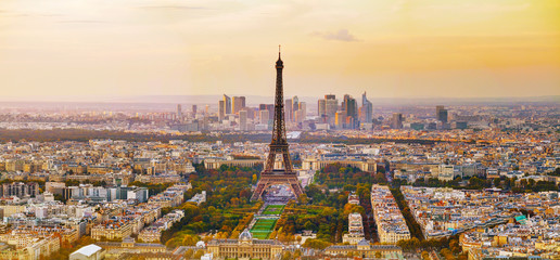 FototapetaAerial view of Paris