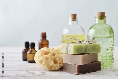 Fotografía  Stack of soap bars