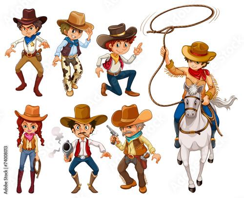 Fotografía Cowboys