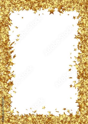 Sterne Rahmen Bilderrahmen Zertifikat Urkunde Rand Gold Buy