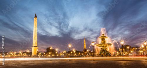 Keuken foto achterwand Baobab place de la concorde PARIS