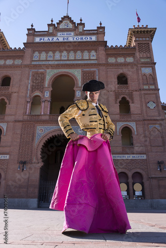 Photo sur Aluminium Corrida Bullfighter