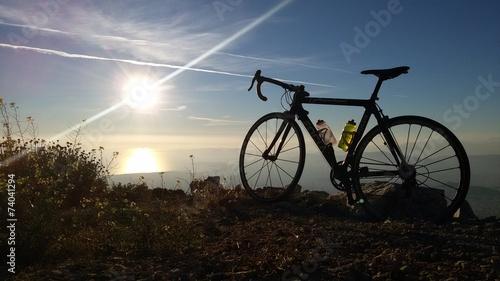 Keuken foto achterwand Fietsen Cycling