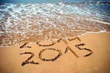 New Year 2015 Is Coming Concep...