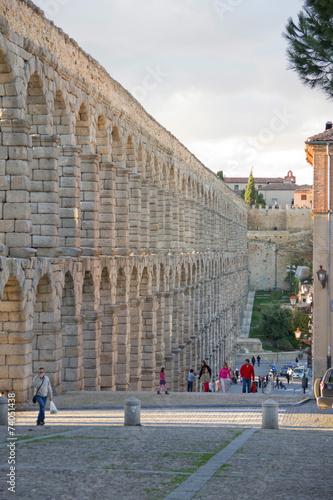 Fotografie, Obraz  Acueducto de Segovia