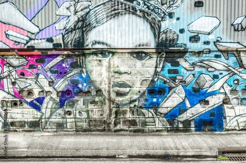 Graffiti portrait 4