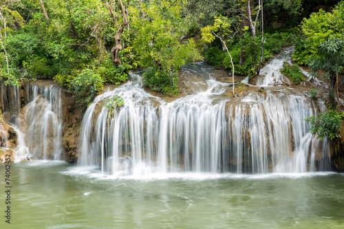 Fototapety, obrazy: Sai Yok Yai waterfall in water season