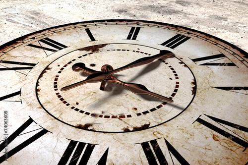 Fototapeta vintage clock obraz