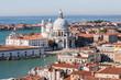 Veduta aerea di Piazza San Marco, Venezia, Veneto, Italia