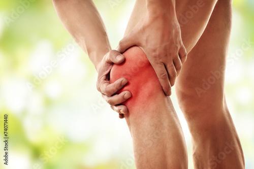 Fotografiet  Schmerzen im Knie