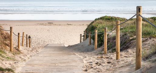 fototapeta wejście na plażę