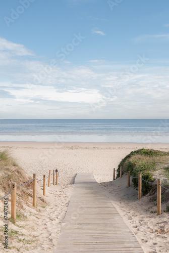 Fotografia  entrada a la playa 02