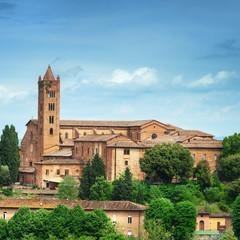 Fototapeta na wymiar Medieval castle, Siena, Italy